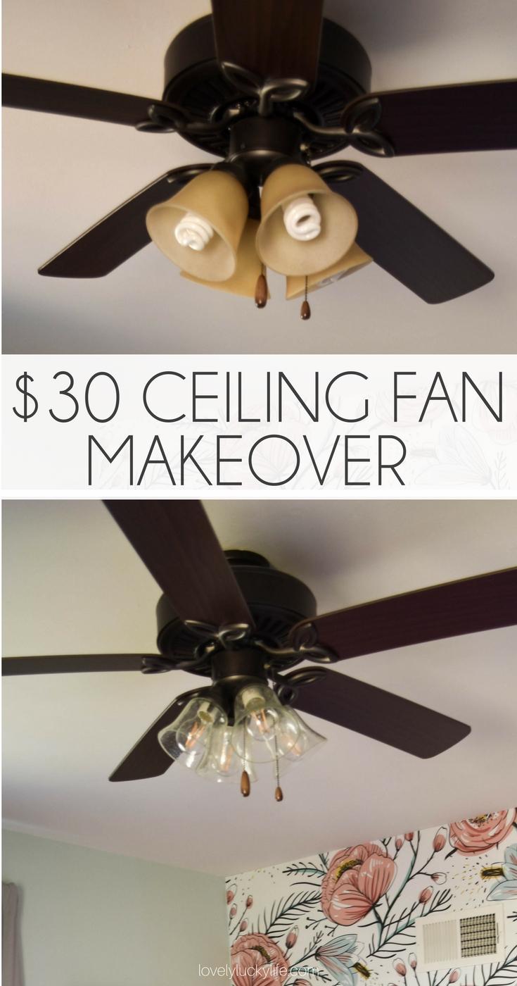 Diy Ceiling Fan Makeover