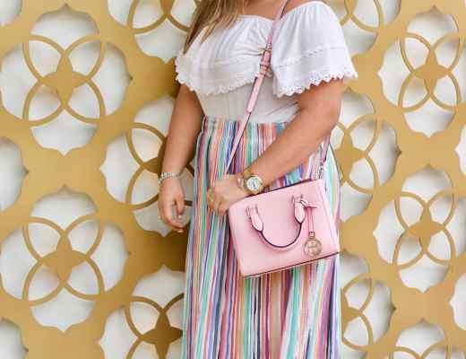 pink purse, easter inspiration, easter idea, pastel color for easter,
