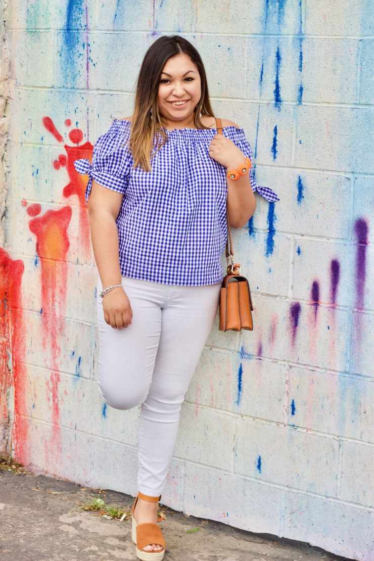 spring trends, outfits for spring, off the shoulder, beauty products worth the hype,