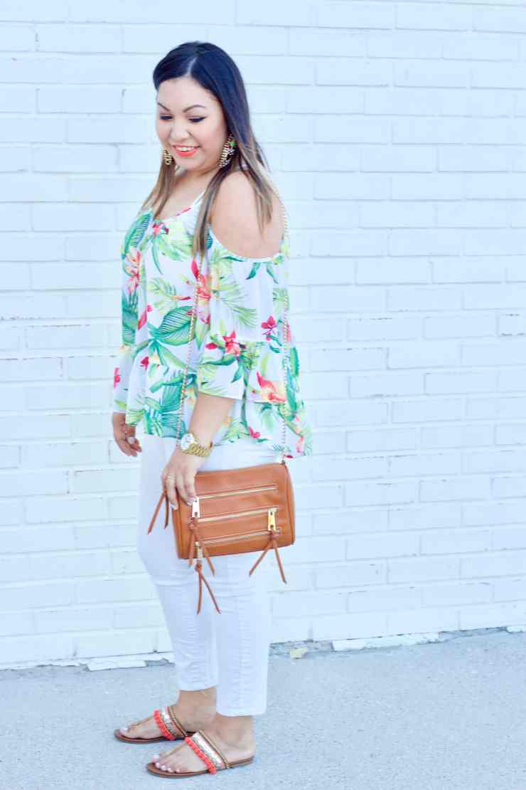 palm tree print, palm tree print outfit, colorful outfit,