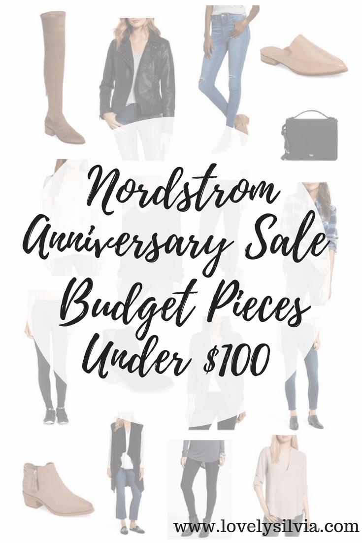 Nordstrom, nordstrom anniversary sale, nordstrom anniversary sale budget pieces, under $100, nordstrom sale, nsale,
