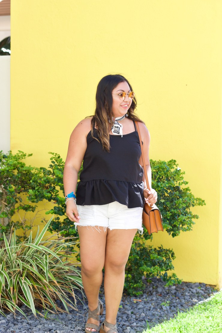 summer outfits 2017, pearl south padre island resort, black top, shein clothes, summer outfits, summer outfit 2017