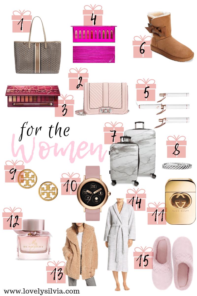 lovelysilvia - Women\'s Gift Guide 2018 | Lovely Silvia
