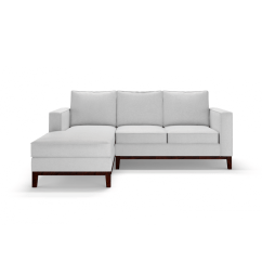 Manstad Corner Sofa Bed With Storage Upholstery Fabric India Online Left Fernando ...