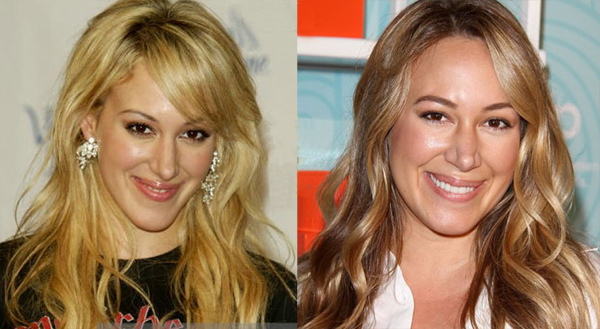 Haylie Duff Before and After Plastic Surgery