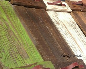 Rustic Pallet Trays