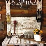 Reclaimed Door Table, www.lovelyweeds.com