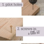 No more fumbling with loose screws with this quick tip, www.lovelyweeds.com