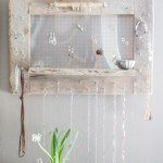 Use your jewels as decoration! Rustic Jewelry Display {www.lovelyweeds.com}