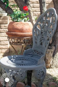 Plastic Patio Chair Makeover
