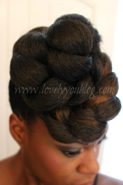 natural hair protective style #4
