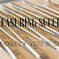 Measuring Success (For the SAHM/WAHM)
