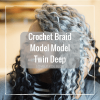 Crochet Braid Model Model Twin Deep