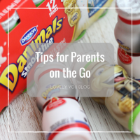 Tips for Parents on the Go, Hint...Snacks