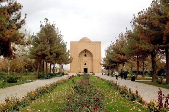 Imam al-Ghazali RA garden