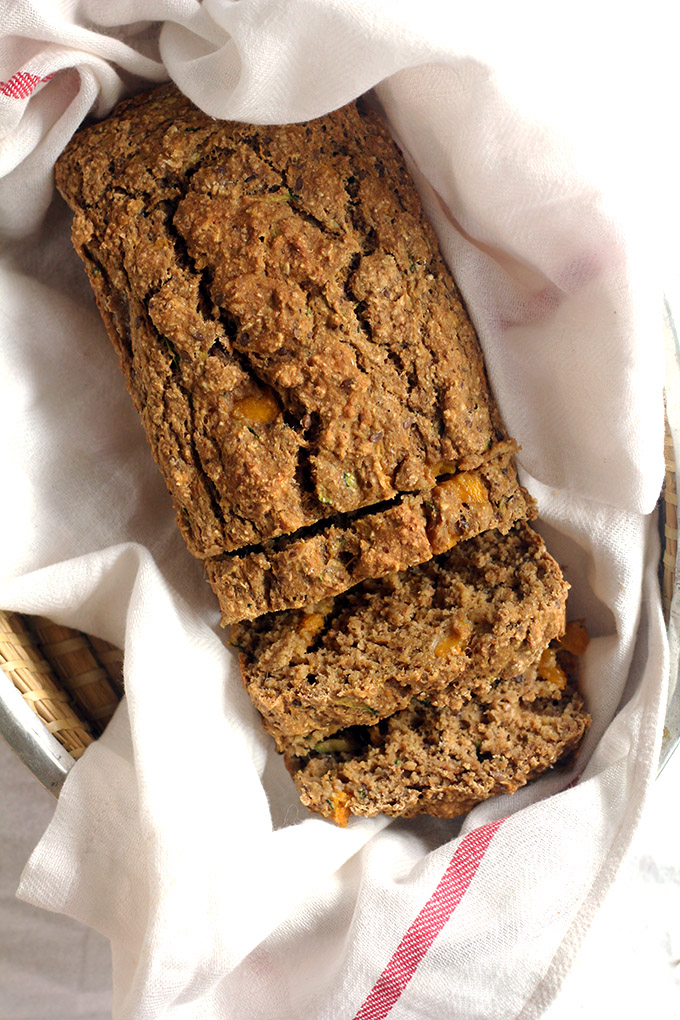 vegan mango zucchini bread | love me, feed me