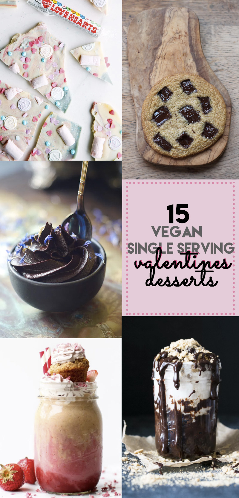 15 Vegan Single Lady Valentine's Desserts | love me, feed me