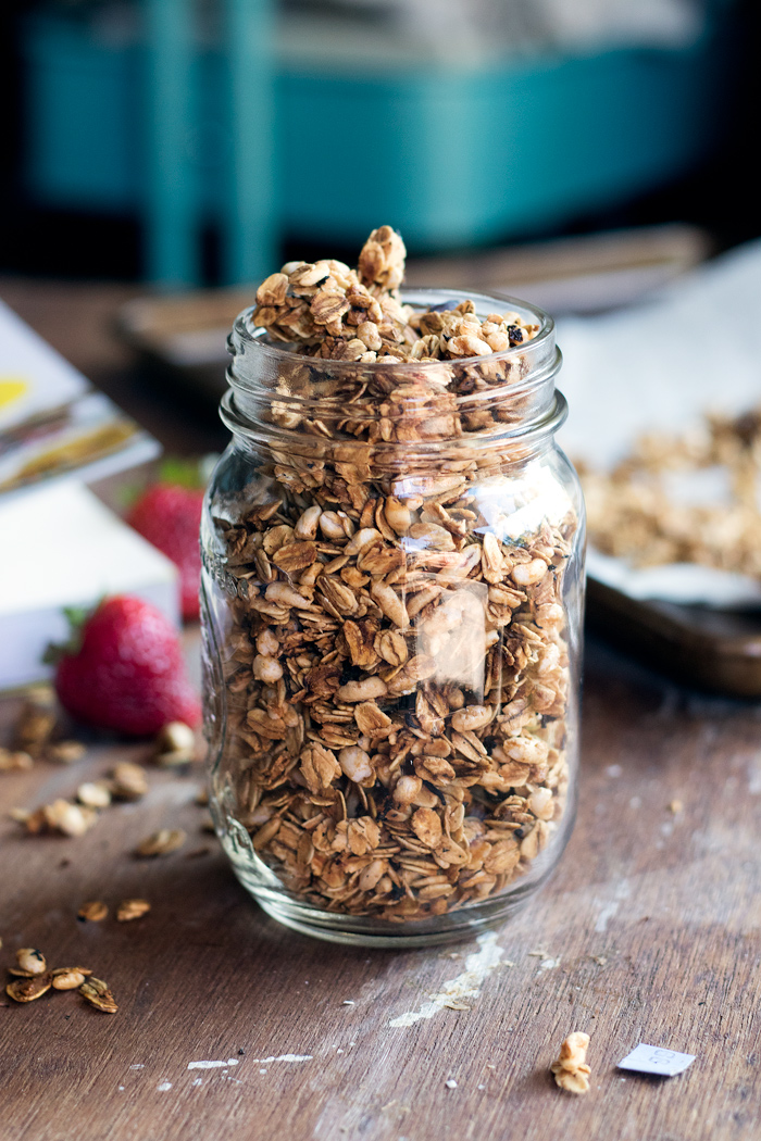 earl grey & strawberry granola from YumUniverse Pantry to Plate
