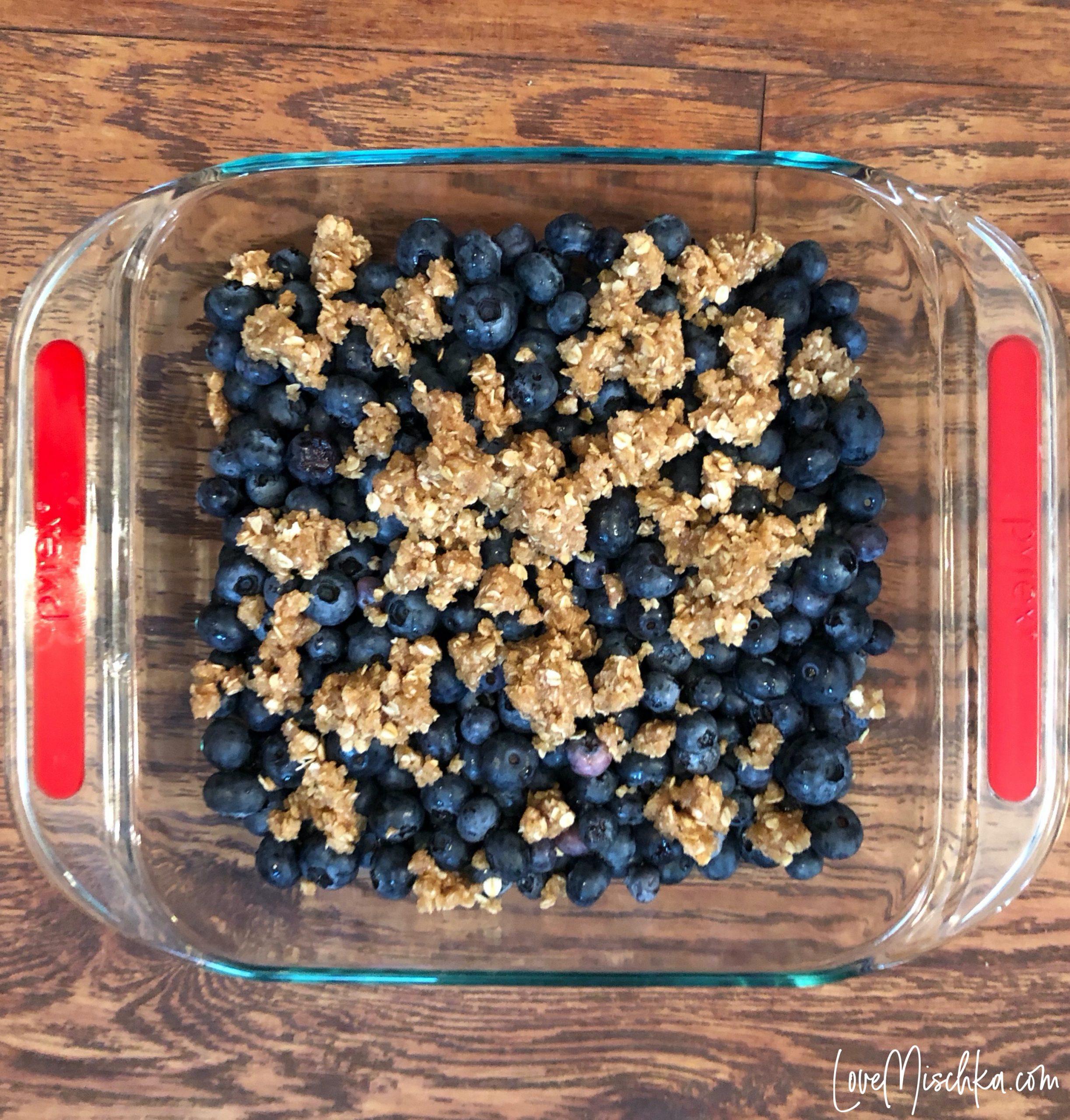 Blueberry Crisp Topping