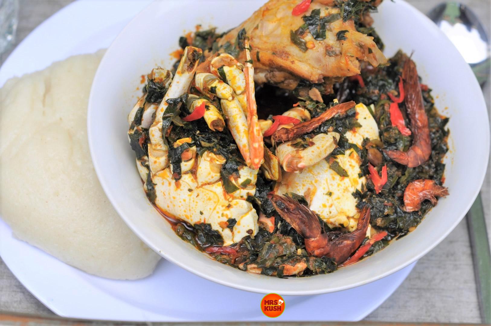 Simple Efo Riro (Nigerian Vegetable Soup)