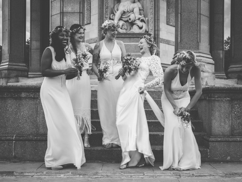 A 1930′s Wedding Dress For A Quirky And Vintage Inspired