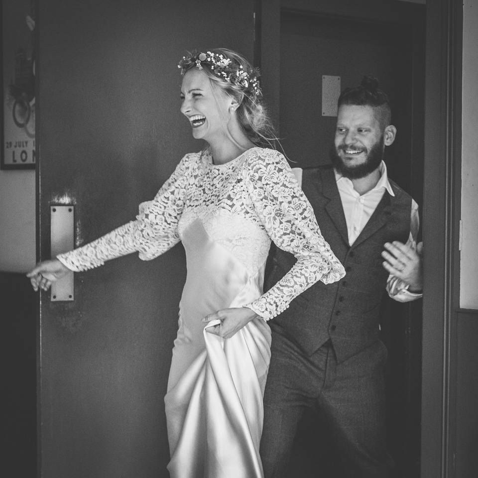 A 1930's Wedding Dress For A Quirky And Vintage Inspired