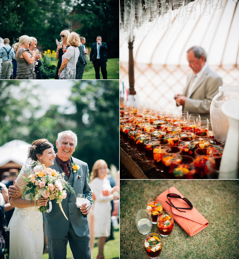A Jenny Packham Gown For A Festival Style Yurt Wedding
