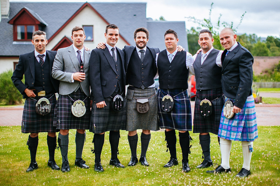 An Atmospheric Wedding In The Remote Scottish Highlands