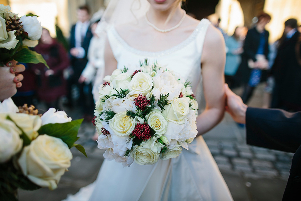 A Glamorous Winter Wedding With An Alan Hannah Gown And