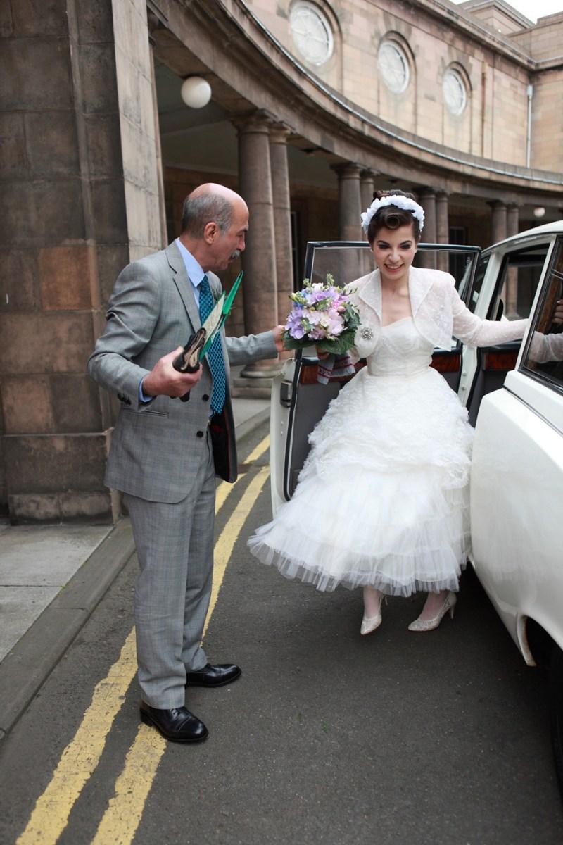 A 1950 S Retro Style Rock N Roll Wedding Love My Dress