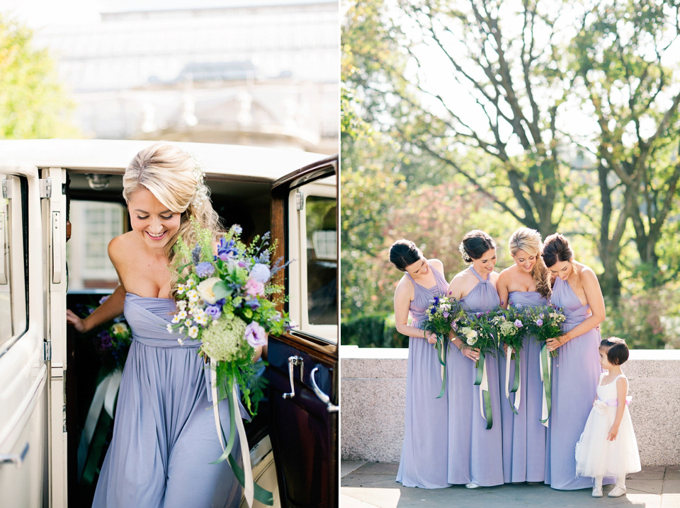 A Fairytale Watters Dress And A Floral Headdress For A