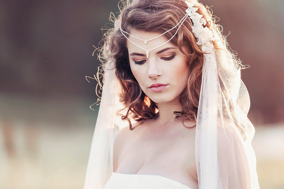 Ethereal And Fairytale Inspired Bridal Accessories By