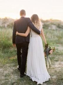 Barefoot Beach Bride Wedding Dress
