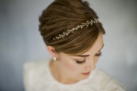 How To Style Wedding Hair Accessories With Short Hair ...