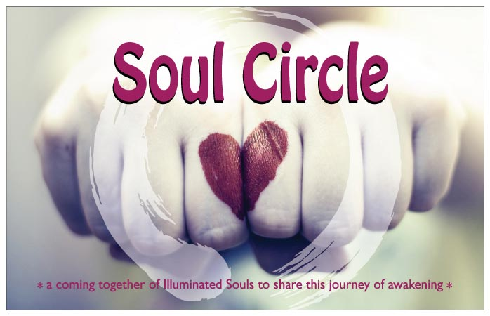 Join with me in the Soul Circle, Meditation Classes and Groups