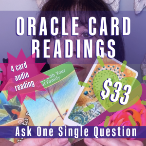 Get your Oracle Card Reading