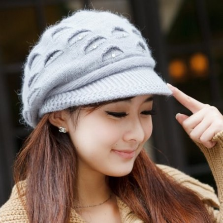 cool girl with hat