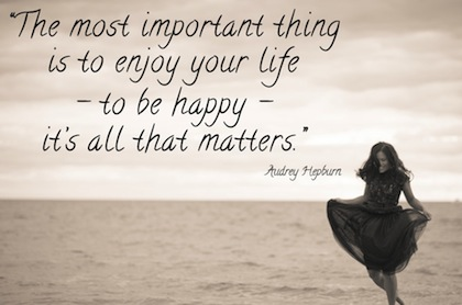 The most important thing in life