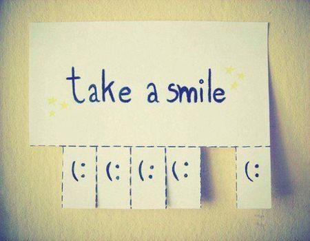 Take a smile image