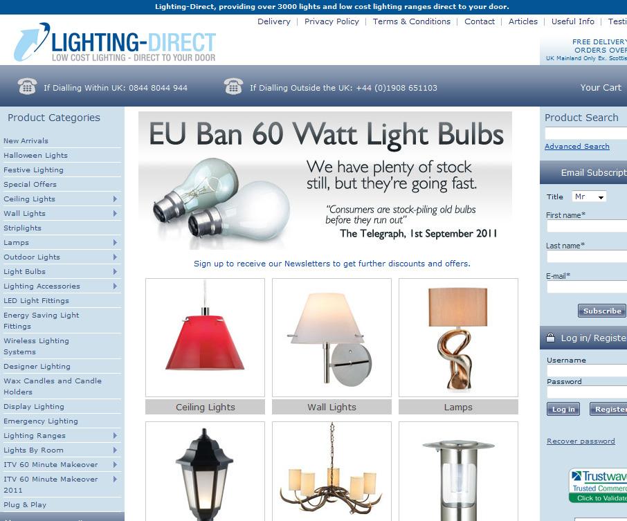 LightingDirect voucher codes for June 2019  Exclusive