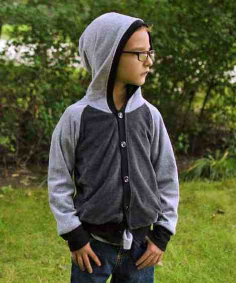 Love Notions Samson Sweater pdf Pattern for boys