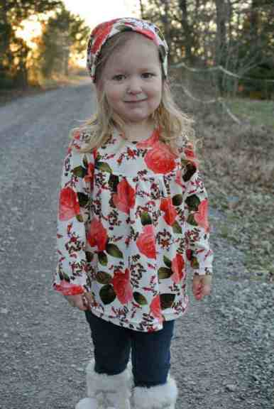 Love Notions Miss Mary Mack Tunic PDF Pattern