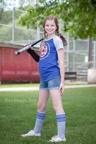 Love Notions Wrigley Raglan Tee and Dress PDF Pattern