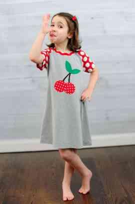 Love Notions Wrigley Raglan Tee and Dress PDF Pattern