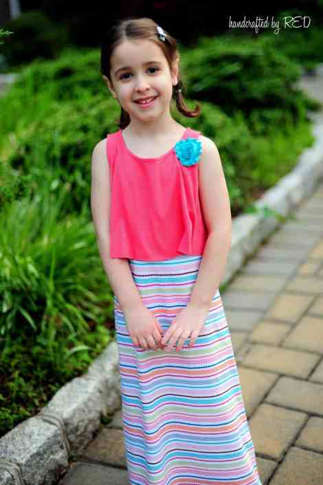 Posh Popover Top and Maxi Dress Easy PDF Pattern