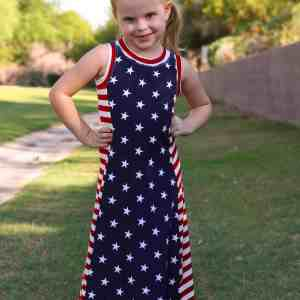 Girls Tidal Maxi Dress