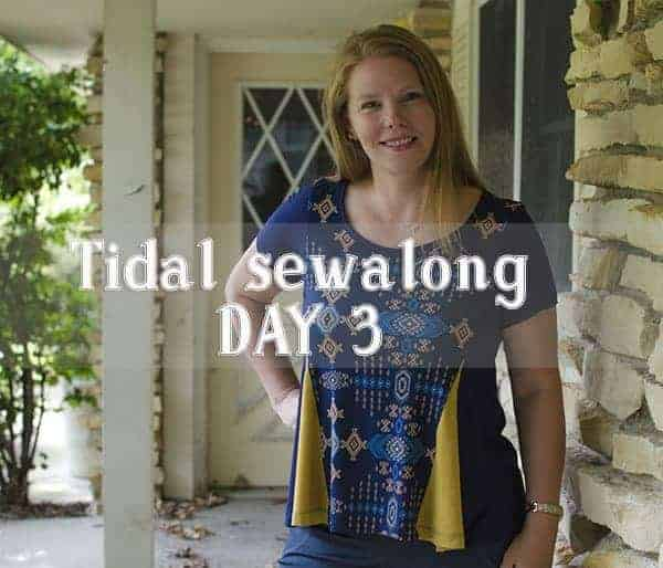 Tidal sewalong day 3