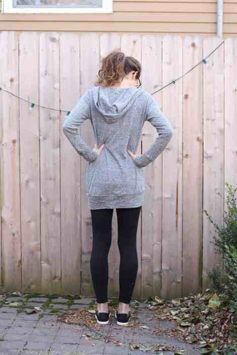 Whistler hoodie with banded bottom