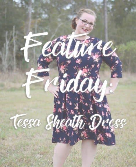 Feature Friday-Tessa Sheath Dress + Sybil Pleated Skirt