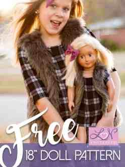 American Girl free vest pattern